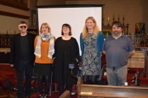 Group Photo L-R Simon Le Boggit, Shelly Knotts (Algobabez, Joanne Armitage (Algobabez) Chrissie Caulfield (CSMA), Stuart Russell (CSMA)